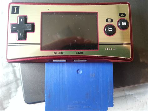 gameboy micro modifications i wish the gameboy micro accepted gb gbc games so i could