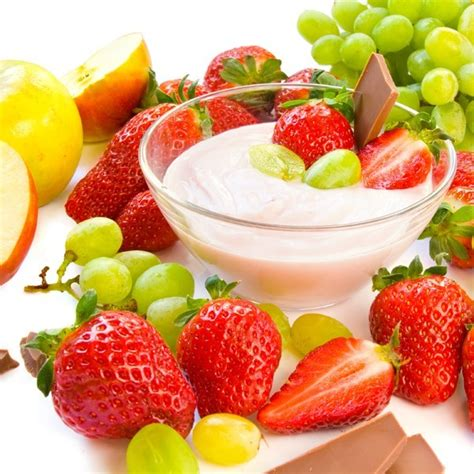 yogurt cream cheese fruit dip