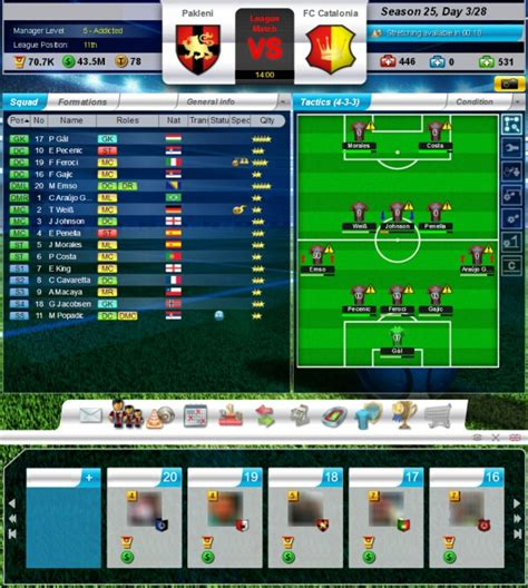 game top eleven mod for android top eleven 2017 be a soccer manager android apps on