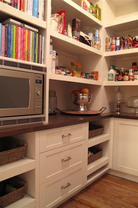 microwave in pantry pantry storage on butler pantry pantries and