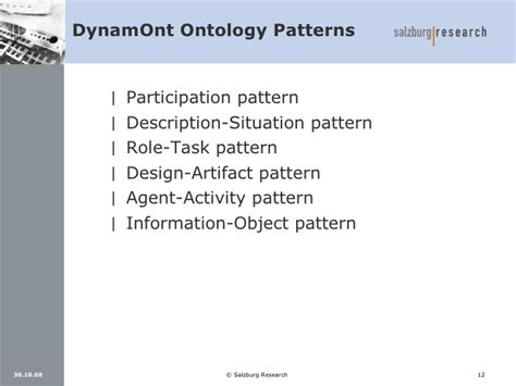 pattern language ontology developing ontologies for collaborative engineering in
