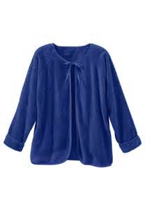 Chenille Bed Jacket by S Plus Size Chenille Bed Jacket