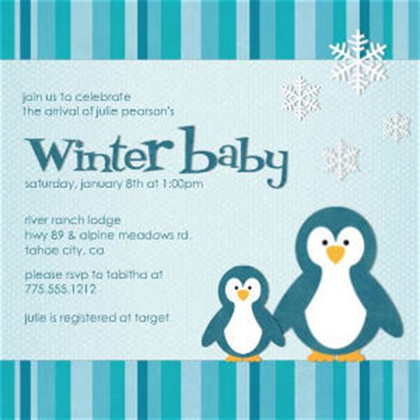 Winter Baby Shower Invitations by Boys Baby Shower Invitations Winter Baby By Mixbook