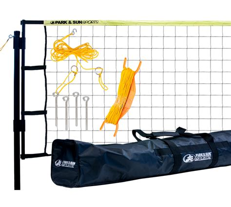 backyard volleyball net system outdoor volleyball net system tournament flex park