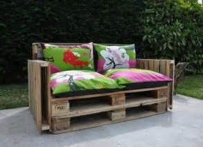 wooden pallet garden sofa plans home garden design