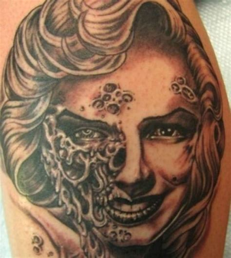 tattoo marilyn monroe fail the weirdest and most baffling celebrity tattoos 33 pics