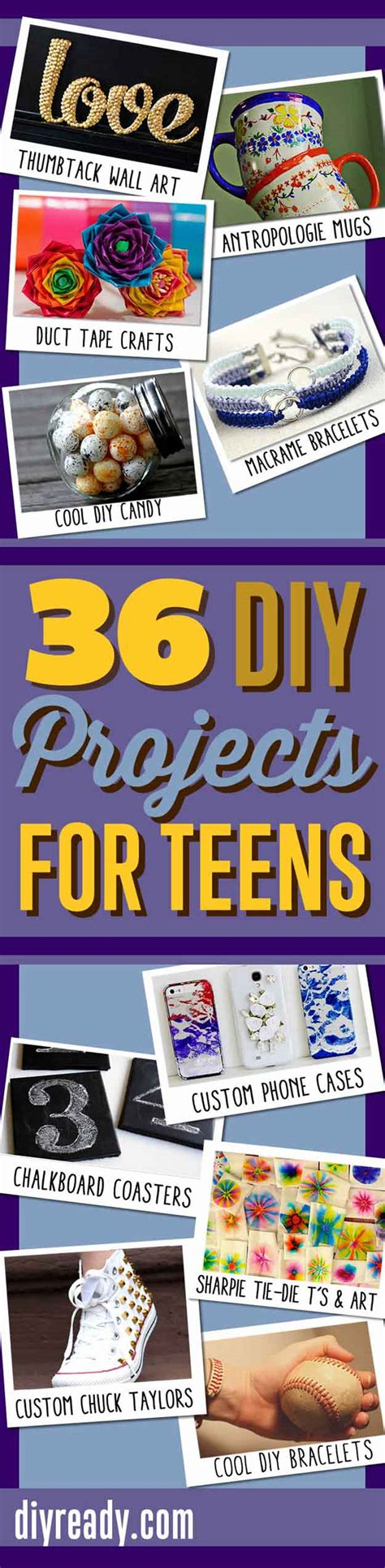 cool diy projects for teenagers 36 diy projects for teenagers cool crafts for diy