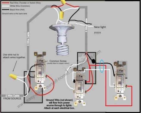 add light switch wiring diagram schemes