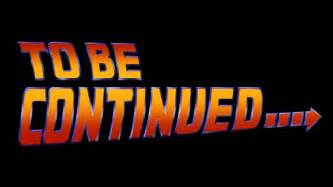 Did back to the future originally not end with to be continued