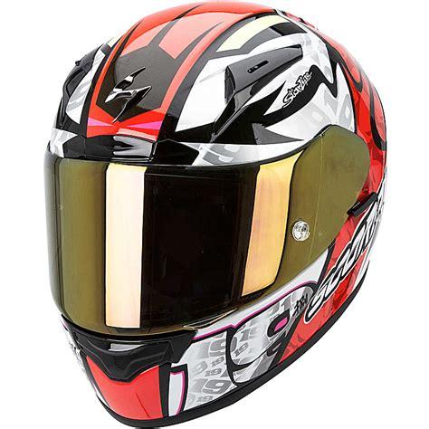 dom design helmet alvaro bautista scorpion exo r2000 motogp helmet replica