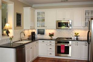 Kitchen With White Cabinets Glamorous White Kitchen Cabinets Remodel Ideas With Molded Panel Mykitcheninterior