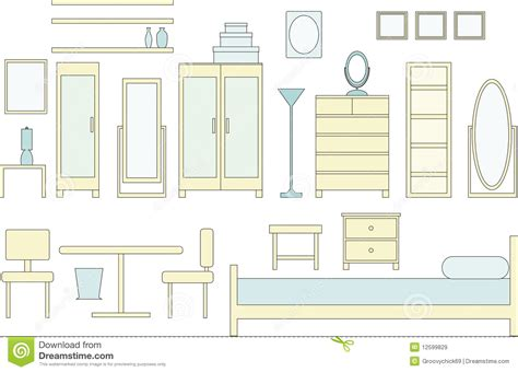 bedroom furniture clipart bedroom clipart bedroom furniture pencil and in color