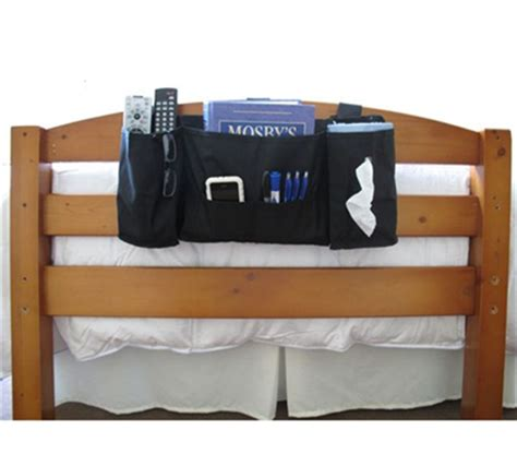 Headboard Remote Caddy by Headside Caddy For Holding Items Bedside Is A Must