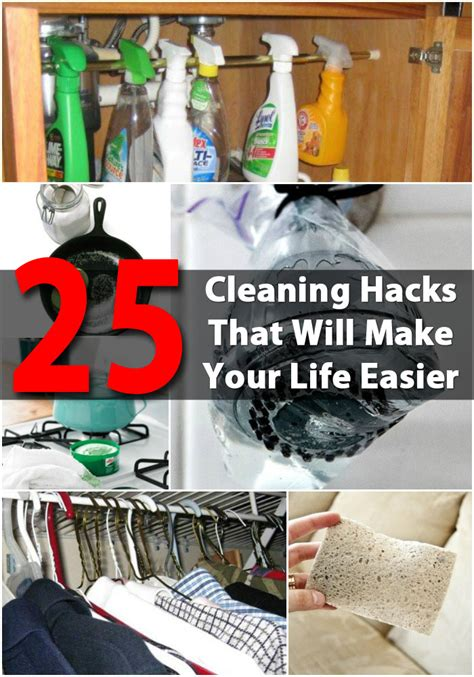 diy hack 25 cleaning hacks that will make your life easier diy