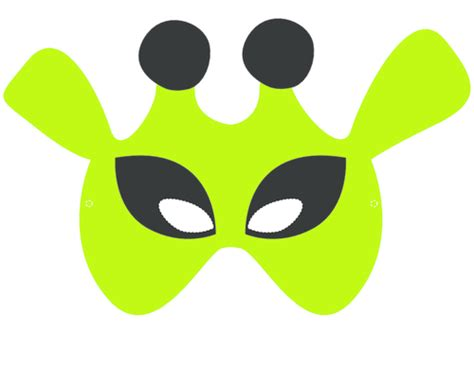 printable alien mask craft masks alien 1 aliens and masking