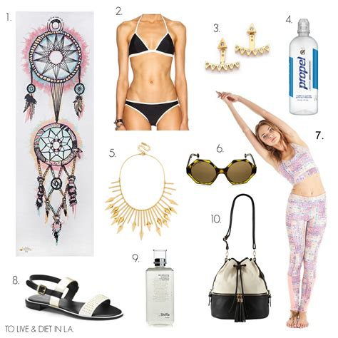 10 Irresistable Summer Fitness Must Haves by 10 Must Haves For A Fit Summer E Rd
