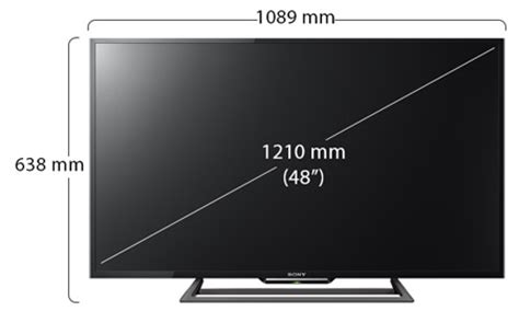 sony 48 inch full hd smart led television kdl48r560c