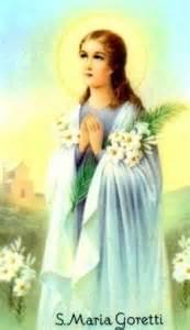 Born on oct 16th 1890 saint maria goretti italian patron saint of