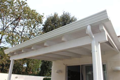 tettoie in legno bianco tettoia in legno