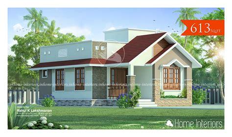 1220 square feet contemporary low budget home design 613 square feet single floor modern low budget home design