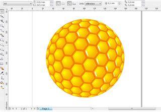 membuat gambar 3d di coreldraw x4 belajar coreldraw x4 membuat efek 3d dengan fish eye