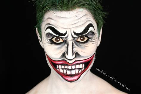 halloween makeup tutorials 2015 batman vs joker youtube the joker comic style make up tutorial biromsmakeup