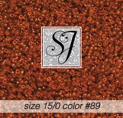 size 15 seed size 15 0 seed color 89 golden brown tr 1889
