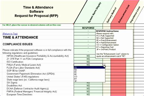 10 Attendance Template Excel Exceltemplates Exceltemplates Software Evaluation Template Excel