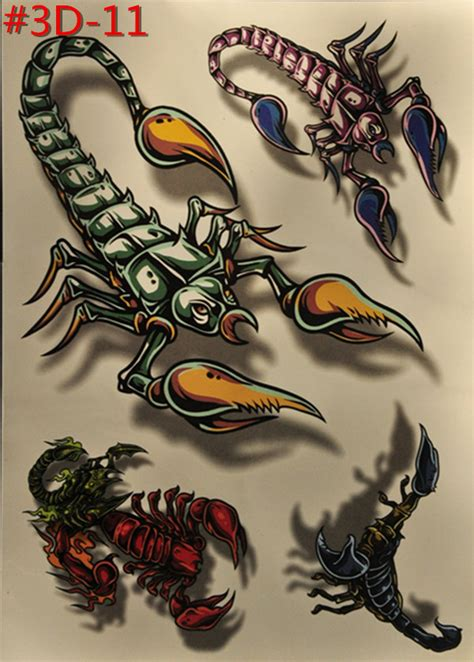 scorpion tattoo stickerjpg pictures to pin on pinterest