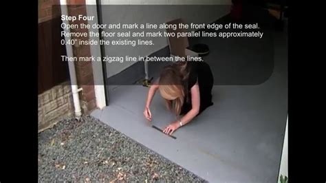 Garadry Garage Door Threshold Seal   Fitting Instructions