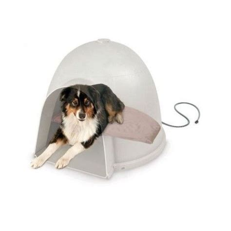 heated bed electric pet cat pad blanket heating warmer heater house igloo cats beds