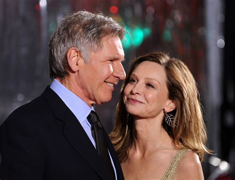 Harrison Ford And Calista Flockhart Are Engaged by It S Harrison Ford And Calista Flockhart S 6th Wedding