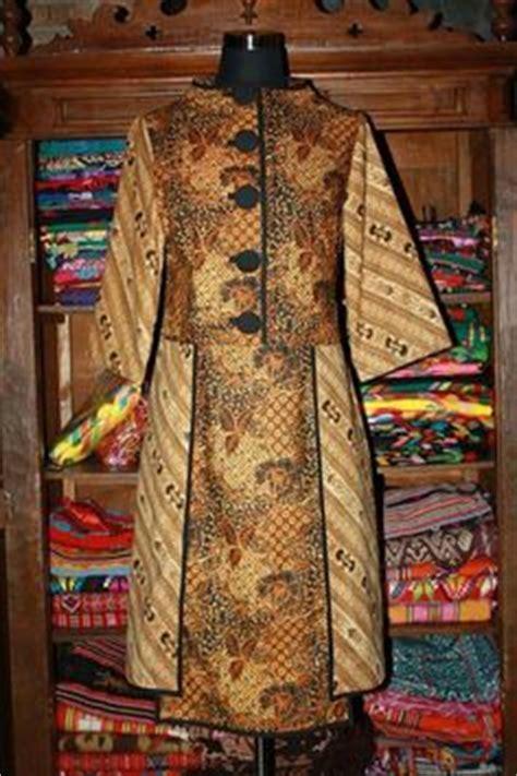Blouse Batik Wanita Katun Sogan Lurik blus baju batik modern kantoran wanita model blus batik