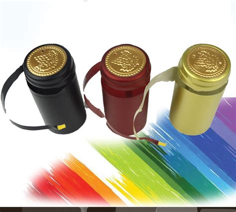Ll1906be 100 Original Import High Quality 1 100pcs pvc heat shrink cap high quality home brewing wine bottle cover import row material