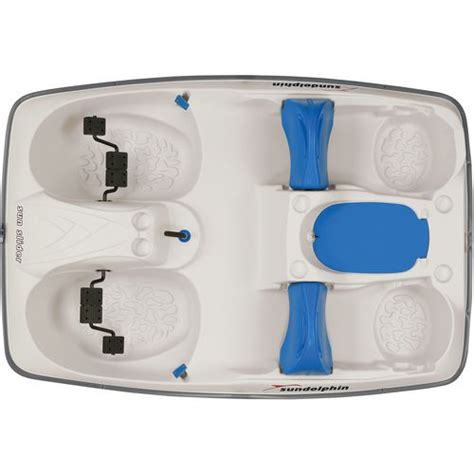 sun dolphin sun slider pedal boat with canopy sun dolphin sun slider 96 in pedal boat with canopy academy