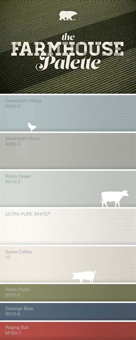 color farm colorfully behr all about farmhouse
