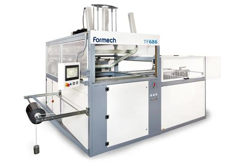 vacuum forming machine formech tf686 reel feed vacuum forming machine
