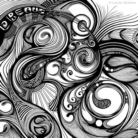doodle circular pattern design 114 best zentangle monotangle similarity repetition