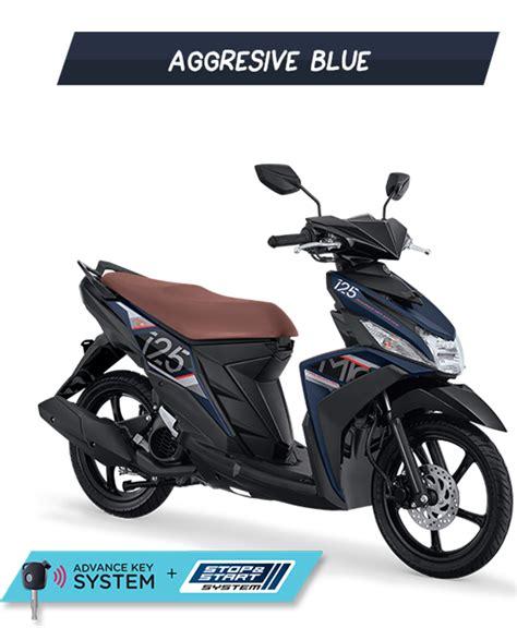 Yamaha Mio M3 2017 pilihan warna yamaha mio m3 125 aks sss bluecore 2017