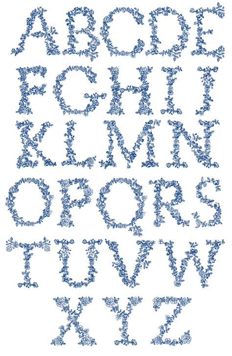 embroidery templates letters redwork alphabet