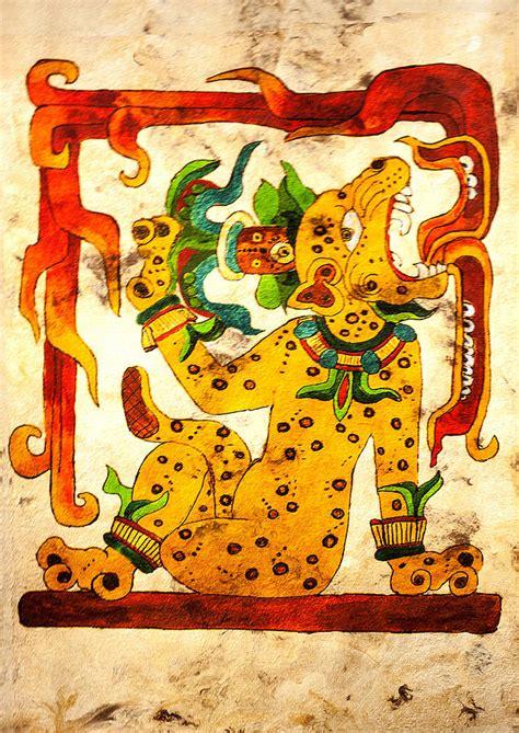 imagenes jaguar maya water lily jaguar with flames painting by judith murphy