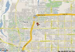map of ramada limited arrowhead mall glendale