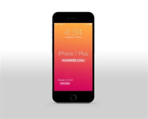clean iphone 7 plus mockup mockupworld
