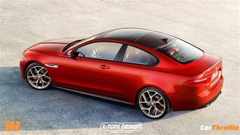 jaguar xe coupe jaguar xe sedan becomes coupe in photoshop