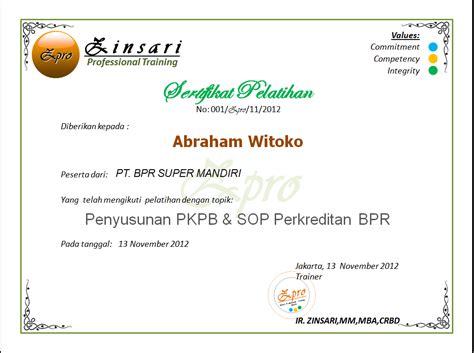 Kualitas Bagus Per Standar Sing Supra bank perkreditan rakyat bpr the knownledge