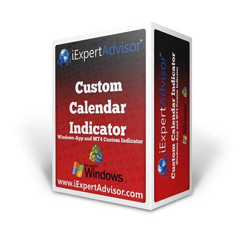Custom Calendar Custom Calendar Kit With Metatrader 4 Custom Indicator