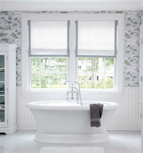 interior bathroom window treatments ideas deco