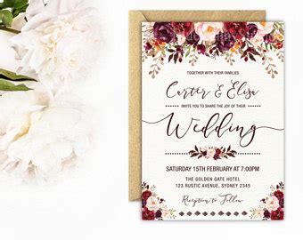 what does a wedding invitation look like wedding invitations etsy au