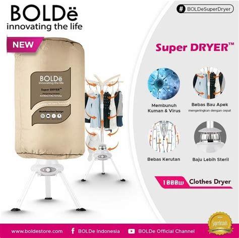 super dryer pengering pakaian portable bolde store