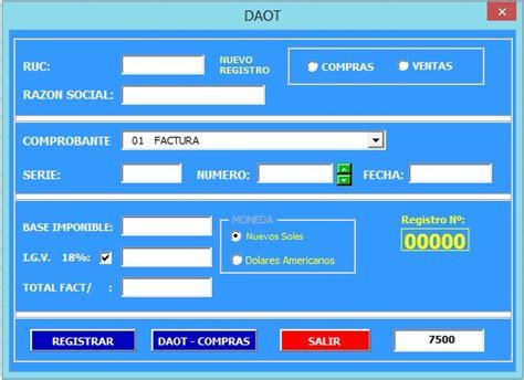 vencimiento de la daot 2015 cronograma de daot 2015 daot sunat 2015 cronograma de